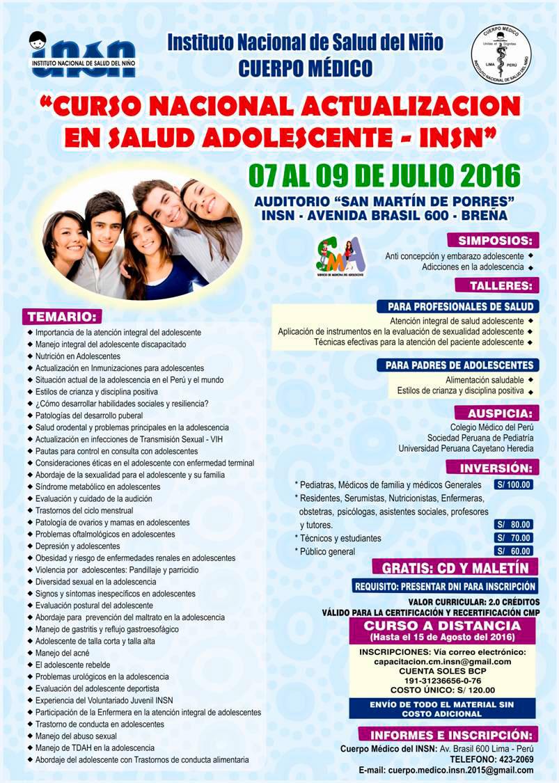 Información Hospital Rebagliati Cursos Congresos En Medicina Y Salud Información Hospital Nacional Rebagliati