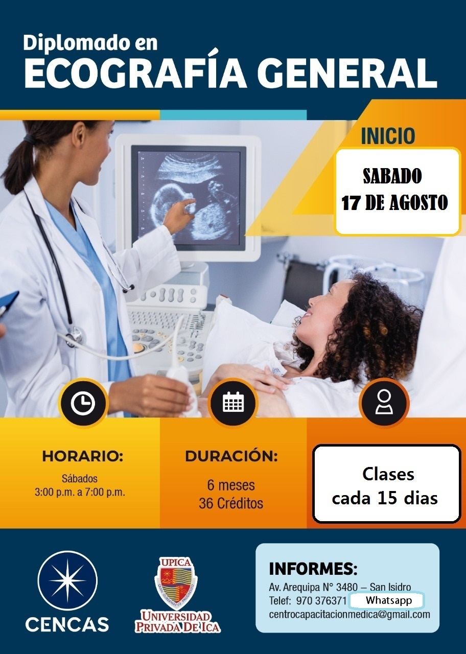 Diplomado En Ecografía General Inicio 17 Agosto 2019 En Lima Perú Información Hospital Rebagliati Cursos Congresos En Medicina Y Salud